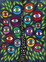 Evil Eye Tree II Fine-Art Print