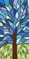 Tree of Life - Blue Fine-Art Print