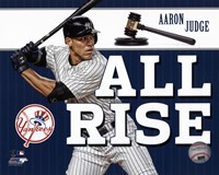 "Aaron Judge """"All Rise"""" Fine-Art Print"