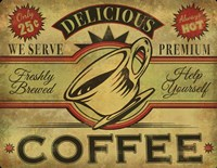 Coffee Sign Fine-Art Print