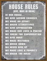 House Rules Fine-Art Print