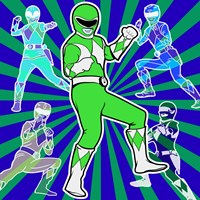 Power Ranger 1 Fine-Art Print