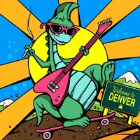Denver Dinosour 1 Fine-Art Print