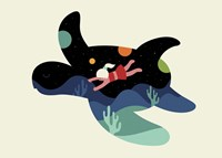 Ocean Roaming Fine-Art Print