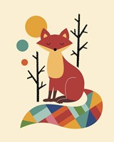 Rainbow Fox Fine-Art Print