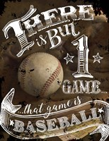 That Game is Baseball Fine-Art Print
