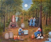 Moonshine Run Fine-Art Print