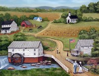 Murray's Mill The Past Fine-Art Print