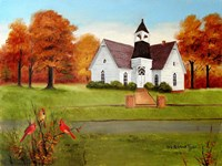 St. Paul's in Autumn Fine-Art Print