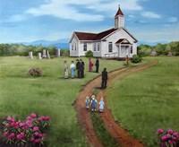 Church Unknown Fine-Art Print