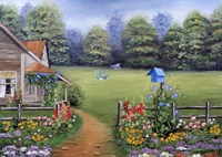 Bluebird House Fine-Art Print