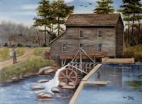 Howard's Creek Mill 1930s Fine-Art Print