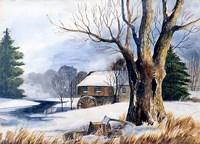Old Grist Mill Fine-Art Print