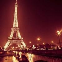 Eiffel at Night Fine-Art Print