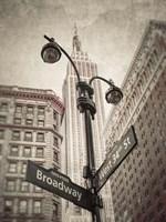 Broadway Intersection Fine-Art Print