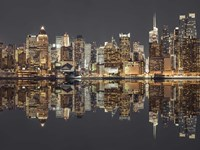 Manhattan Reflections Fine-Art Print