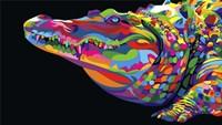 Crocodile Smile Fine-Art Print