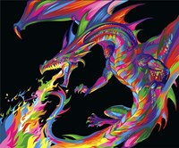 Fantasy Dragon Fine-Art Print