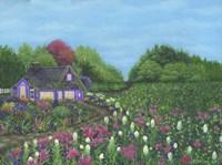 Royal Cottage & Garden Fine-Art Print