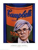 Homage to Andy Warhol Fine-Art Print