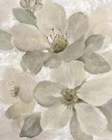 White on White Floral I Crop Neutral Fine-Art Print