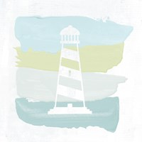 Seaside Swatch Lighthouse Fine-Art Print