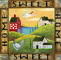Home Sweet Home 2 Square Fine-Art Print