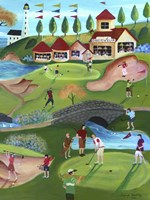 Country Golf Club Fine-Art Print