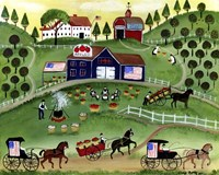 American Apple Farm Fine-Art Print