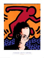 Homage to Keith Haring Fine-Art Print
