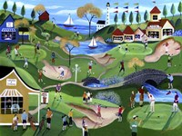 Fairway Golf Resort Fine-Art Print