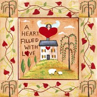 A Heart Filled With Love 1 Fine-Art Print
