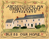 Bless Our Home Abc Fine-Art Print