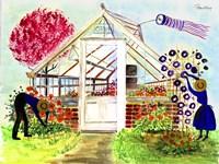 Greenhouse Gardeners Fine-Art Print