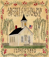 American School House Fine-Art Print