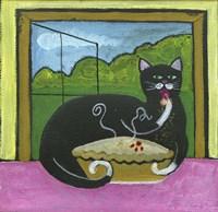 Kitty Likes Cherry Pie Fine-Art Print