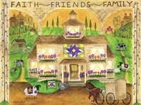 Faith Friends Family Fine-Art Print