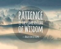 Patience Is The Companion Of Wisdom - Foggy Hills Fine-Art Print