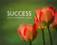 Success And Nothing Less - Flowers Color Fine-Art Print