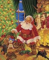 Santa Pups Fine-Art Print