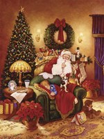 Santa Sleeping Fine-Art Print