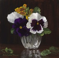 Four Pansies Fine-Art Print