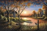 An Autumn Sunset Fine-Art Print