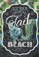 Get Your Tail to the Beach Fine-Art Print