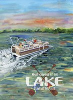 What happens at the Lake Fine-Art Print