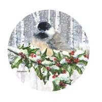 Winter Wonder Chickadee Fine-Art Print