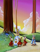 Peter Rabbit 1 Fine-Art Print
