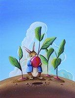 Peter Rabbit 4 Framed Print