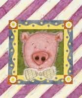 Pig in Bow Tie Fine-Art Print