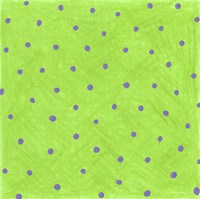 Green Polka Dots Fine-Art Print